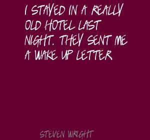 Stayed quote #3