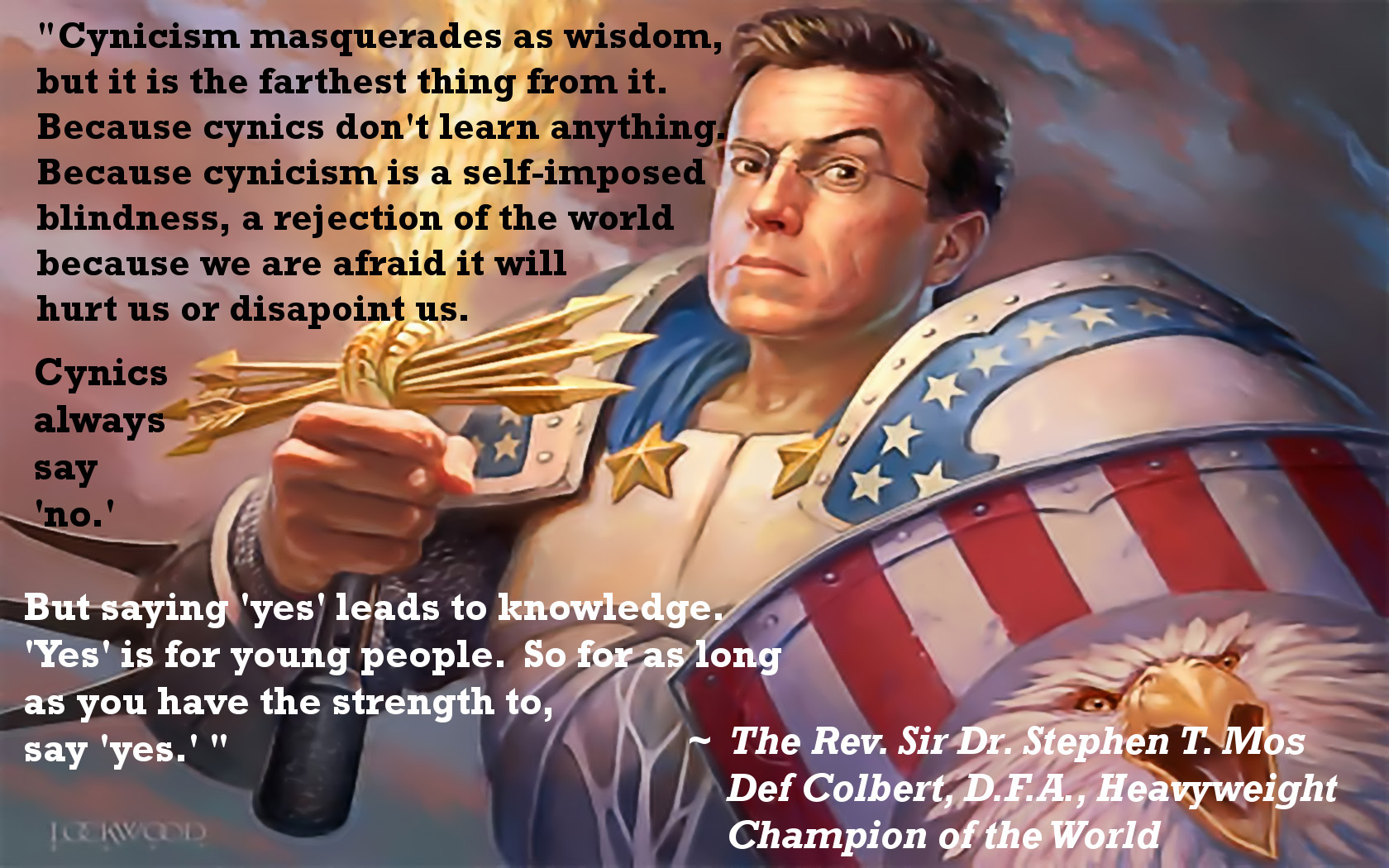 Stephen Colbert's quote #7