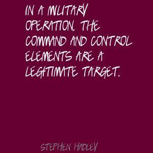 Stephen Hadley's quote #3