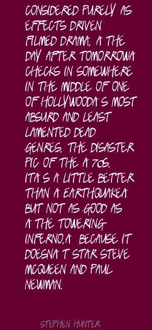 Stephen Hunter's quote #7