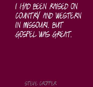 Steve Cropper's quote #3