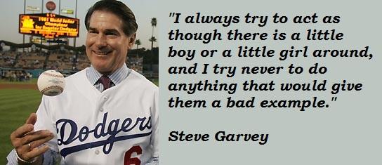 Steve Garvey's quote #5