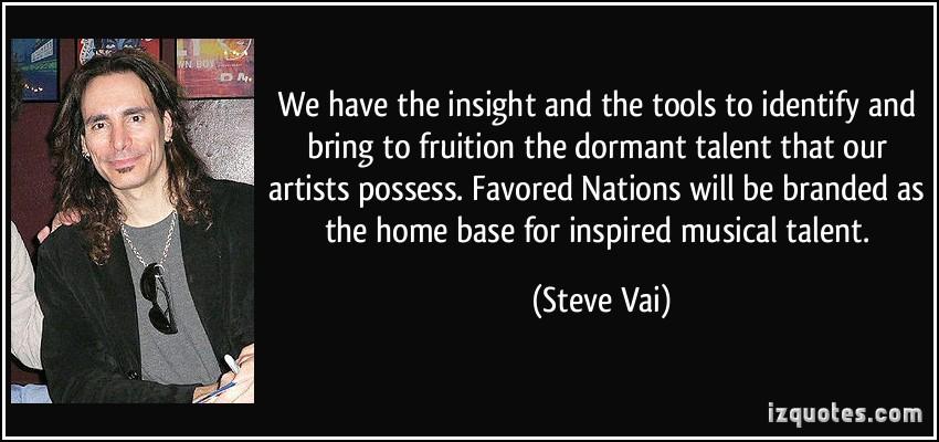 Steve Vai's quote #8