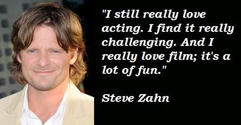 Steve Zahn's quote