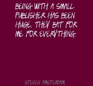 Steven Amsterdam's quote #1