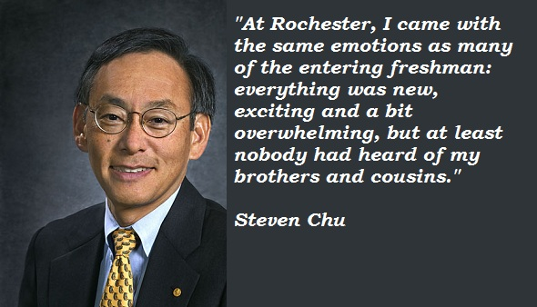 Steven Chu's quote #3