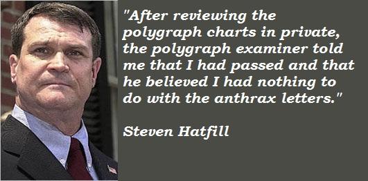 Steven Hatfill's quote #5
