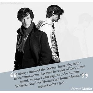 Steven Moffat's quote #1