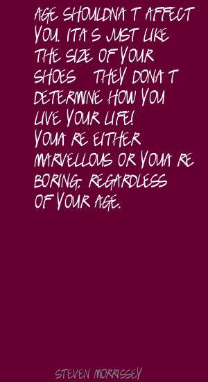 Steven Morrissey's quote #5