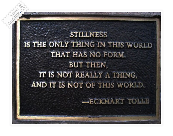 Stillness quote #1