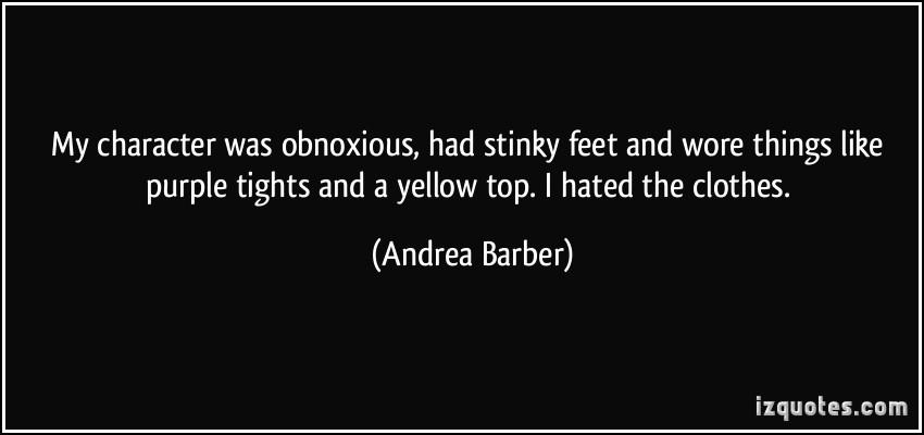 Stinky quote #2
