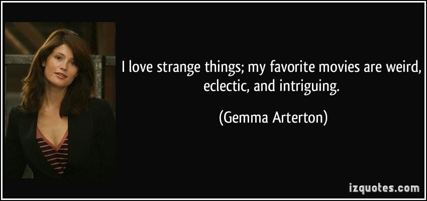 Strange Things quote #2