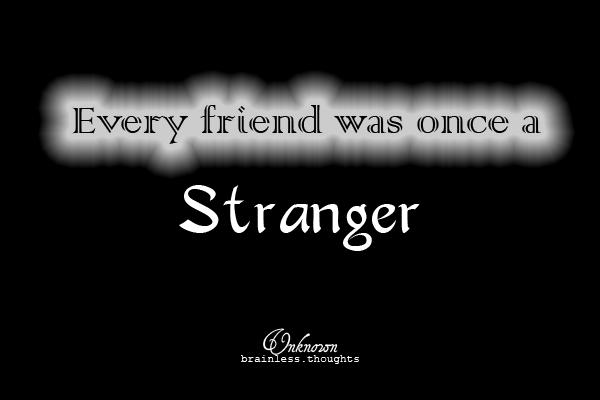 Stranger quote #2