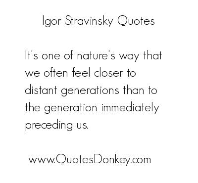 Stravinsky quote #1