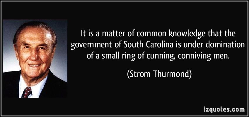 Strom Thurmond's quote