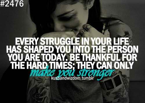 Struggled quote #1