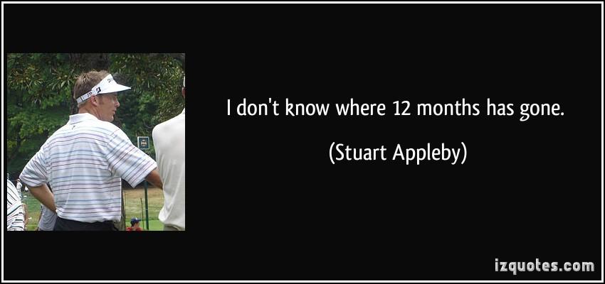 Stuart Appleby's quote #5