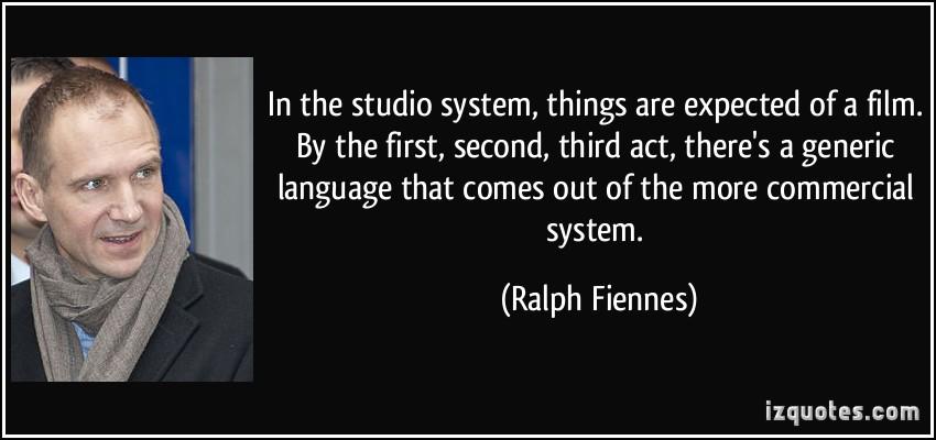 Studio System quote #1