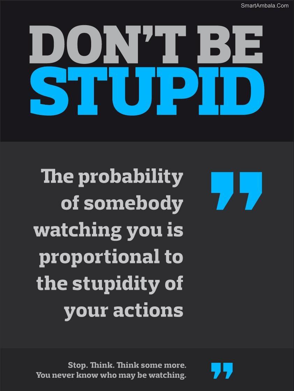 Stupid quote #3