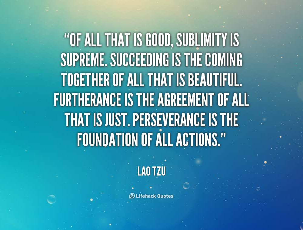 Sublimity quote #1