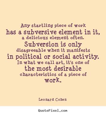 Subversion quote #1
