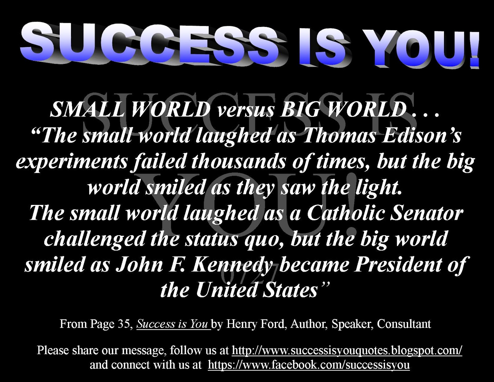 Success Is quote #2