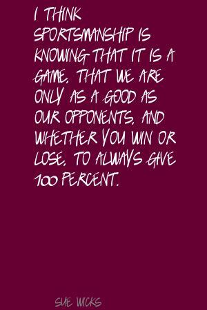 Sue Wicks's quote #7