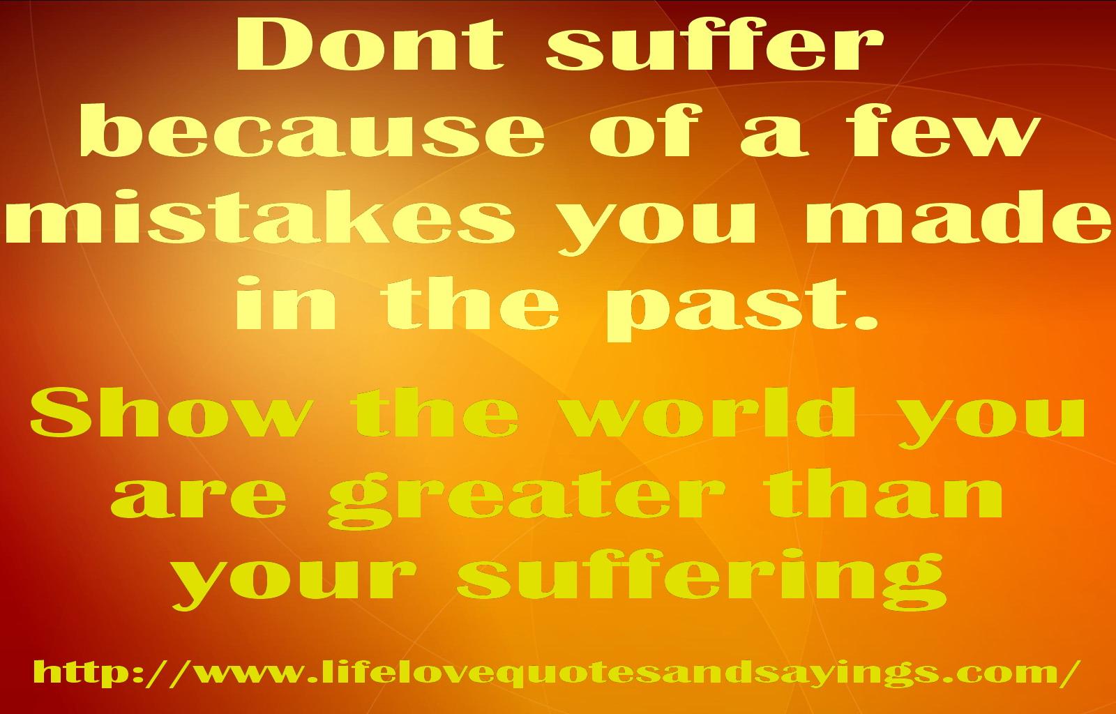 Suffer quote #6