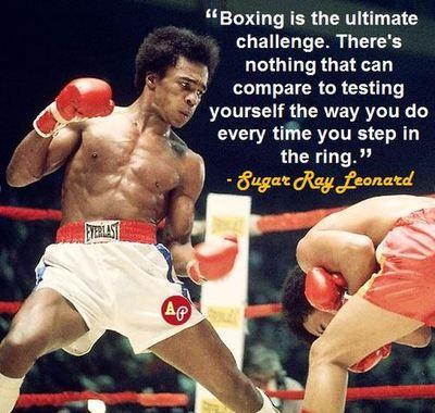 Sugar Ray Leonard's quote #4