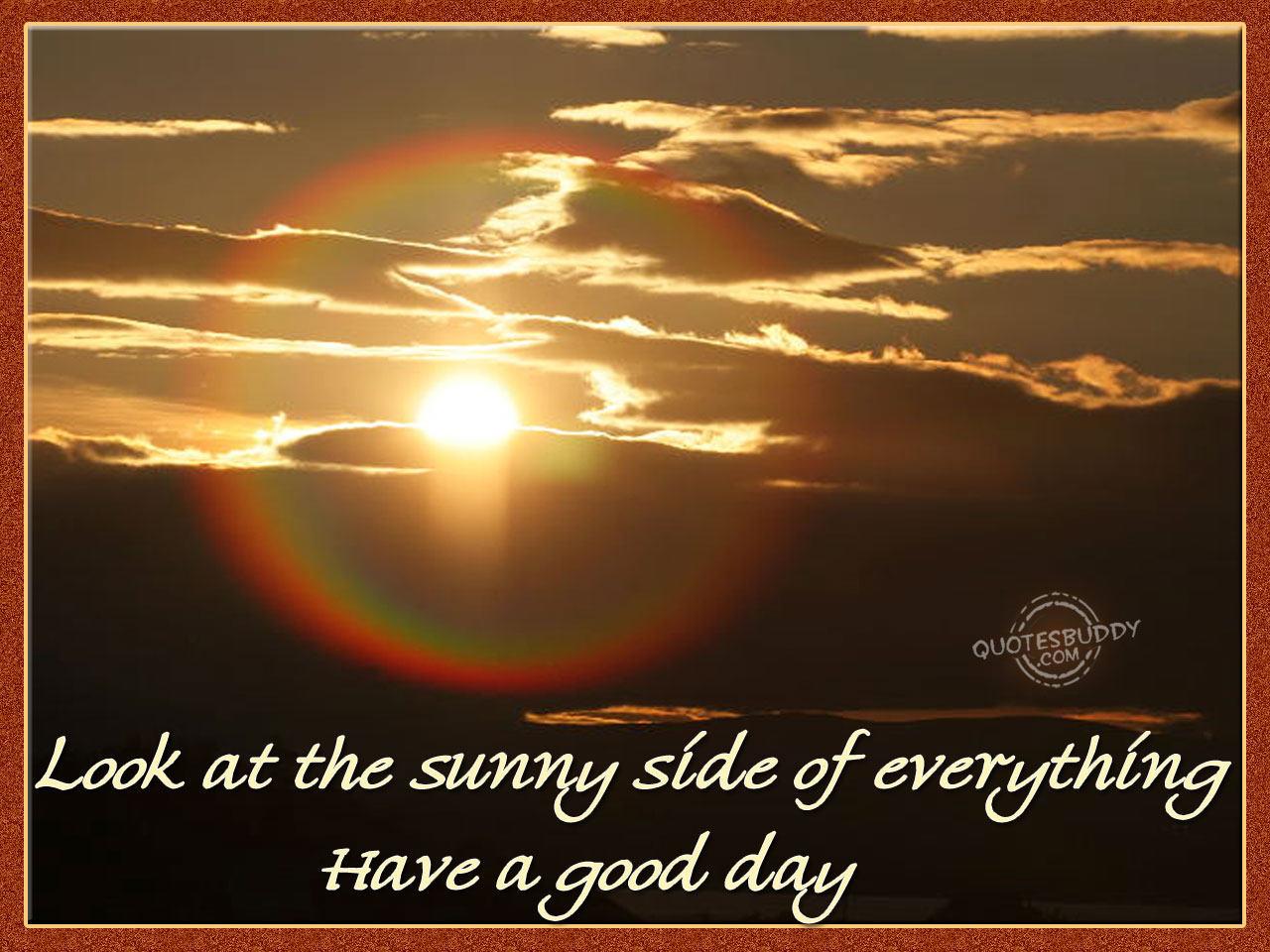 Sunny quote #4