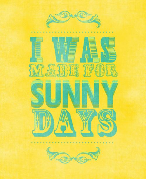 Sunny quote #1