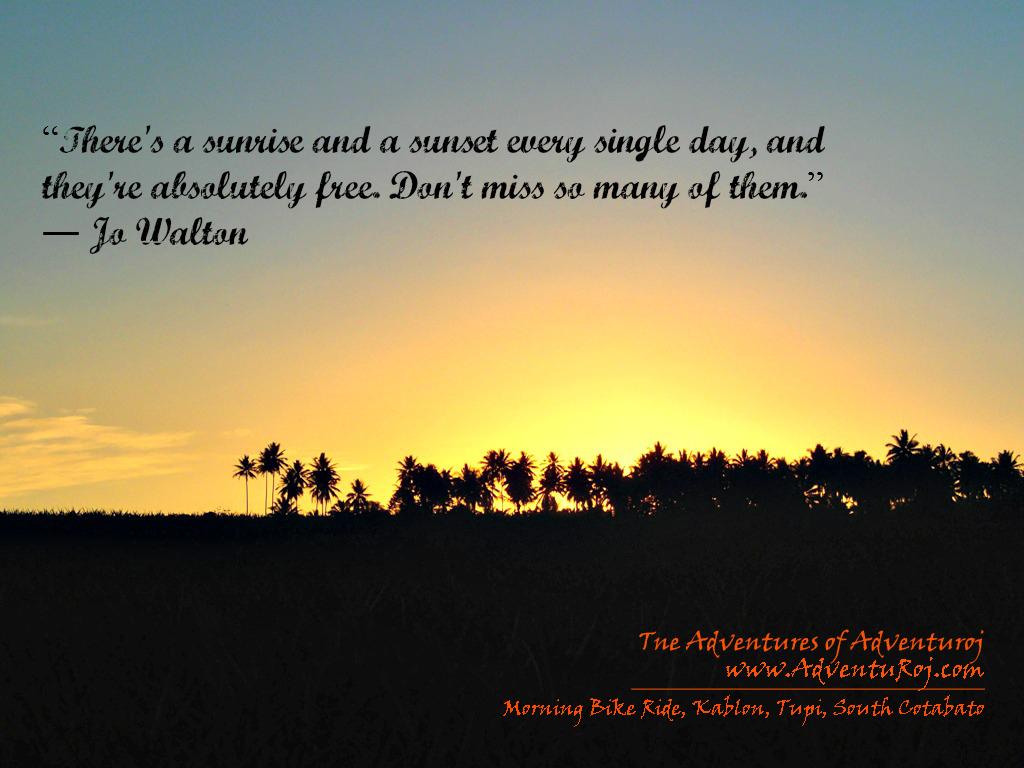 Sunrise quote #7
