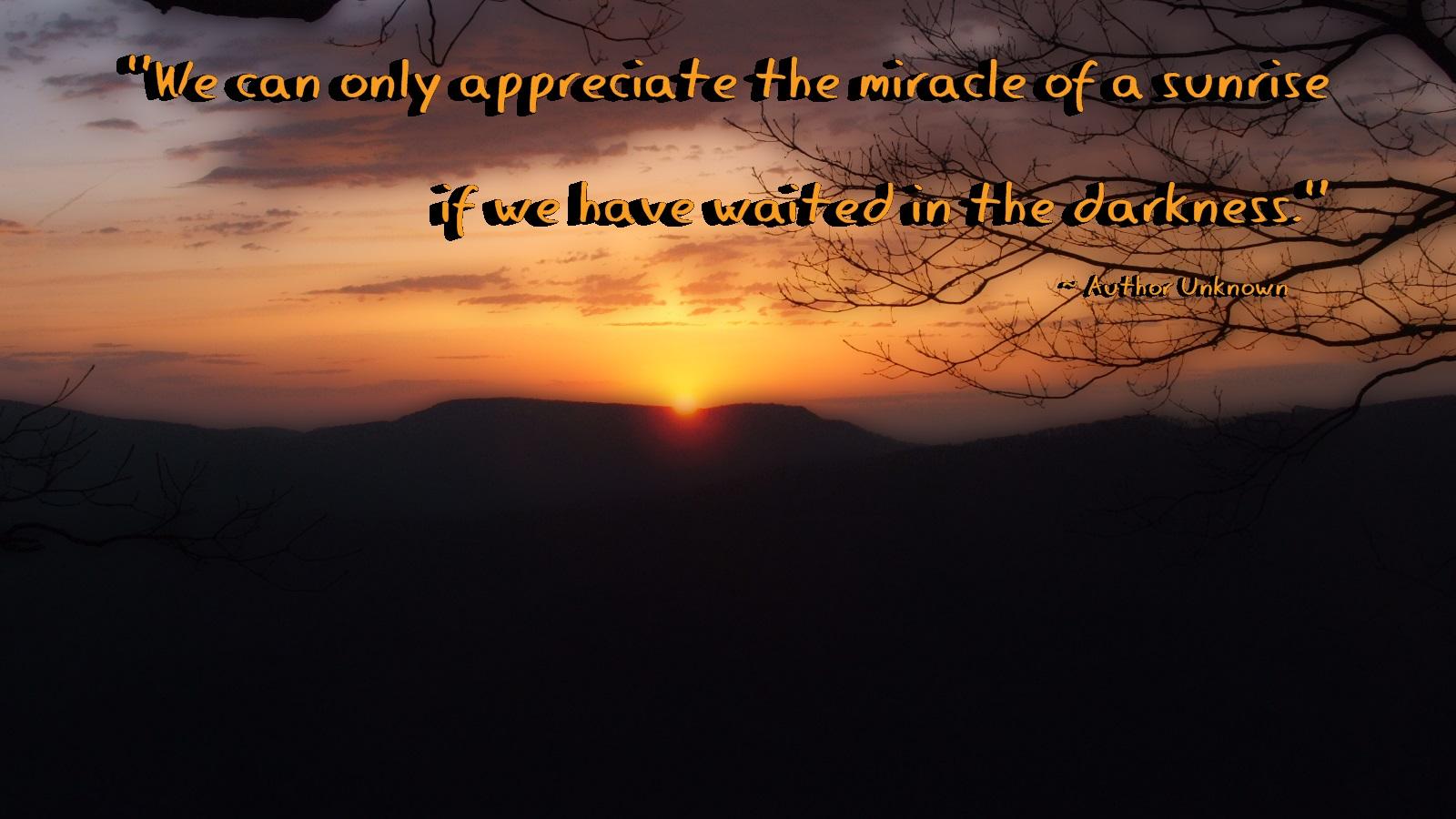 Sunrise quote #4