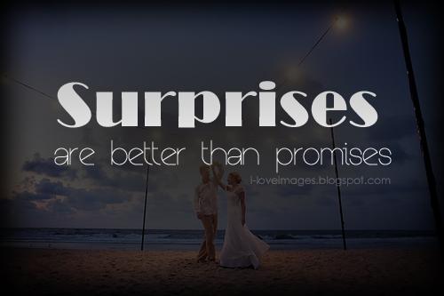 Surprises quote #1
