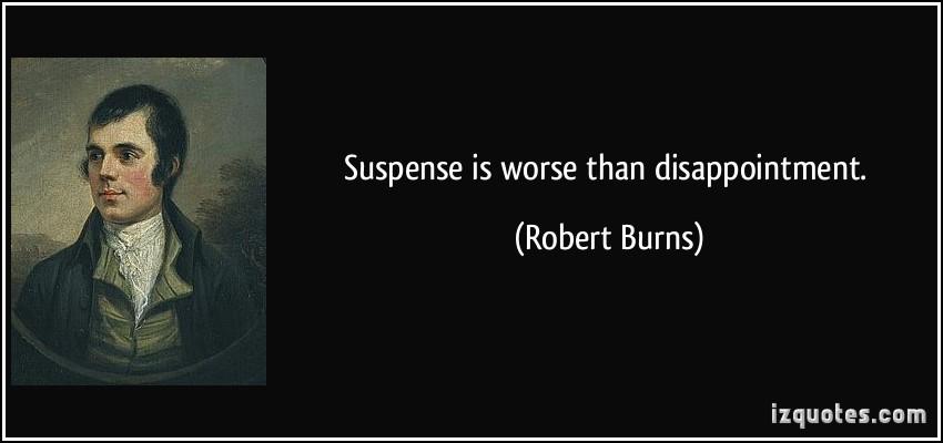 Suspense quote #3