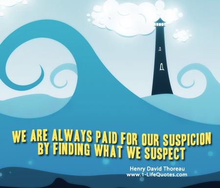 Suspicion quote #1