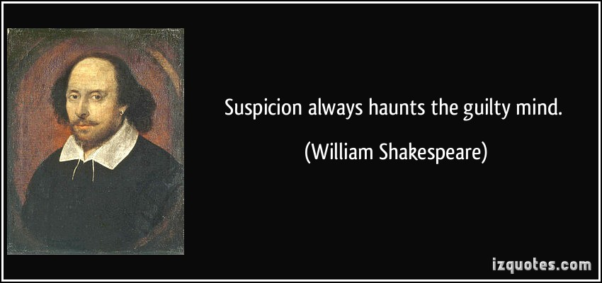 Suspicion quote #5