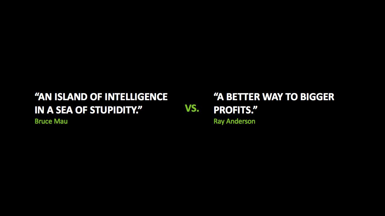 Sustainability quote #2