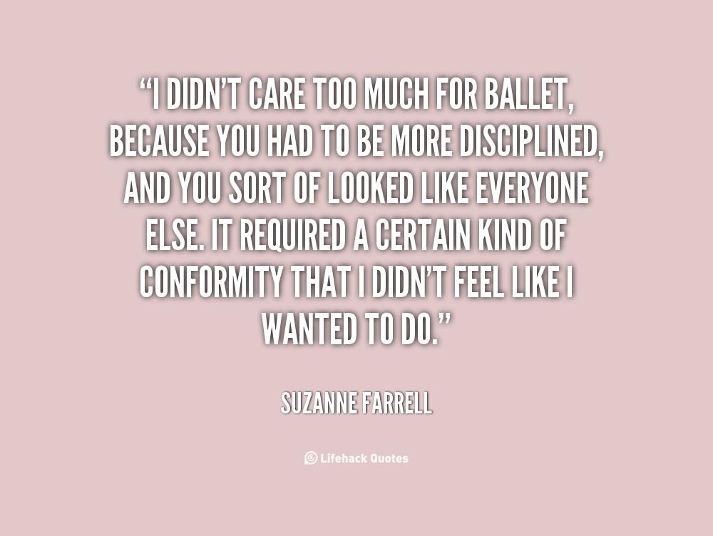 Suzanne Farrell's quote #1