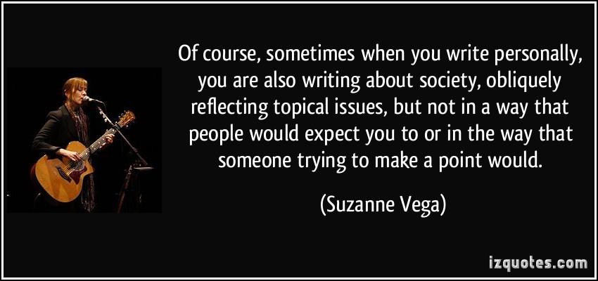 Suzanne Vega's quote #7