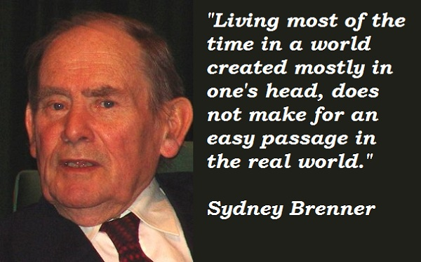 Sydney Brenner's quote #1