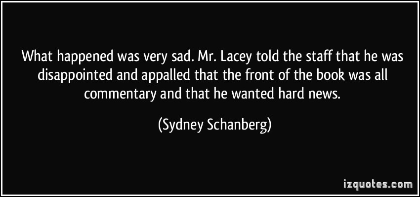 Sydney Schanberg's quote #3