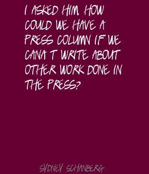 Sydney Schanberg's quote #6