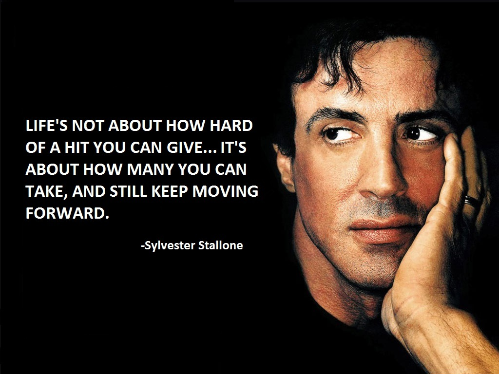 Sylvester Stallone's quote #1
