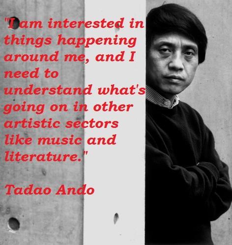 Tadao Ando's quote #1