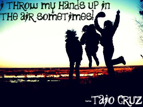 Taio Cruz's quote