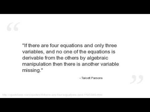 Talcott Parsons's quote #5