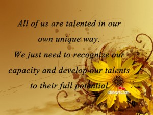 Talent quote #3