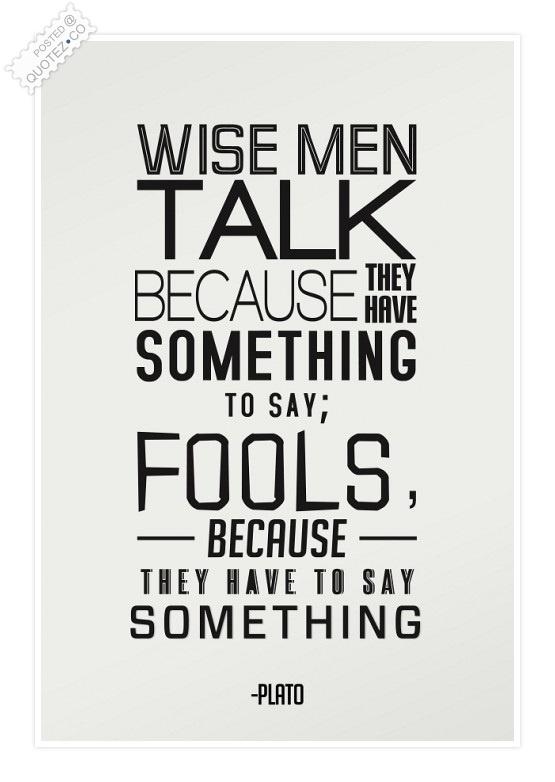 Talk quote #8