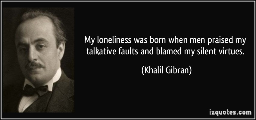 Talkative quote #1